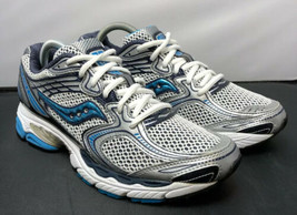 Saucony Running Race Guide 3 Shoes 10053-1 Blue Silver White Womens 9.5 - $49.00