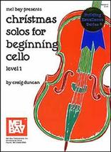 Christmas Solos For Beginning Cello  - $9.99