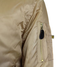 Men's Premium Multi Pocket Water Resistant Padded Zip Up Flight Bomber Jacket image 4