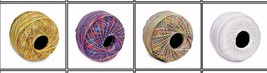 4 Crochet Thread Cotton Knitting Yarn 100 Grams Each Ball Size 10 US1 - ₹1,690.90 INR