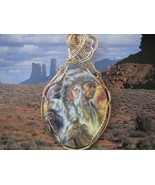 Cameo American Indians WireWrapped - $55.00