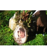 Cameo Western Style Pretty Child Handcrafted - $55.00