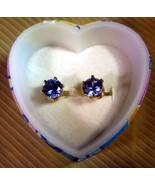 Birthstone Stud Earrings - $10.00