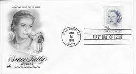 Grace Kelly FDC 3/93, Artcraft Cachet, Hollywood CA  - $4.99