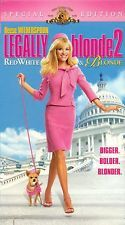 Primary image for Legally Blonde 2 : Red, White and Blonde (2003, VHS) Reese Witherspoon
