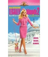 Legally Blonde 2 : Red, White and Blonde (2003, VHS) Reese Witherspoon - $5.00