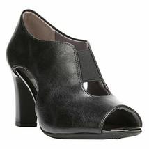 LifeStride Simply Comfort® Collection Women's Carla Black Faux Leather Pump 7.5 - $59.39