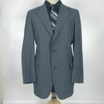 Patrick James Men's Size 40R Gray Wool Blazer Sport Coat Jacket - $39.60