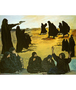 The Women (Original Anti-War Painting of Iraqi Women) - $1,500.00
