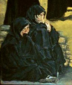 The Women (Original Anti-War Painting of Iraqi Women)