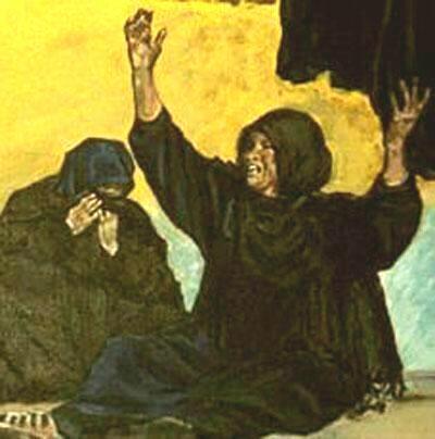 The Women (Original Anti-War Painting of Iraqi Women)