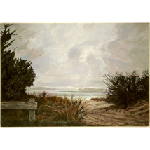 East Hampton Light (An Original  Seascape) - $1,800.00