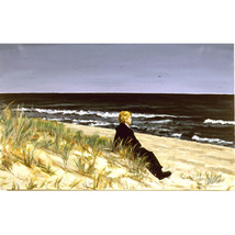 On The Beach (An Original Seascapel With Figure ) - $1,800.00