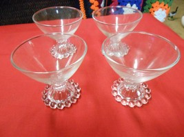 Great Collectible Set of 4 Vintage Anchor Hocking Boopie  SHERBETS.....SALE - $11.88