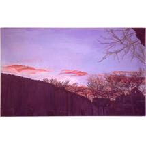 From The Governor's Palace, Santa Fe (Original Landscape ) - $2,000.00