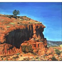 Jemez Profile (Original Landscape Painting, NM) - $2,000.00