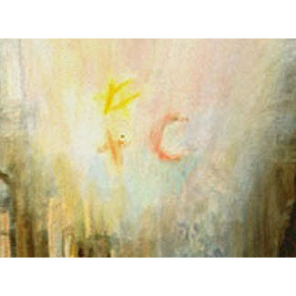 In The Light (An Original Painting About Peace)
