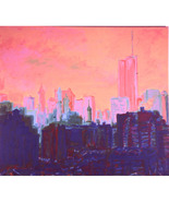 My View, April 2001 (The Twin Towers Before 9/11) - $1,500.00
