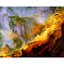 The Swan Nebula (An Original Space Landscape) - $1,000.00