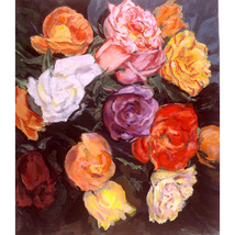 He Brought Me Roses (Original Still Life Painting) - $1,000.00