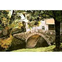 The Kalachev Bridge (Original Landscape of Bulgaria) - $1,500.00