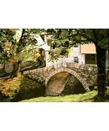 The Kalachev Bridge (Original Landscape of Bulg... - $1,500.00