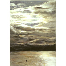 Fijord Flight (An Original Waterscape of Norway) - $1,500.00
