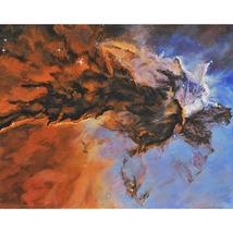 The Eagel Nebula  (An Original Space Landscape) - $1,000.00