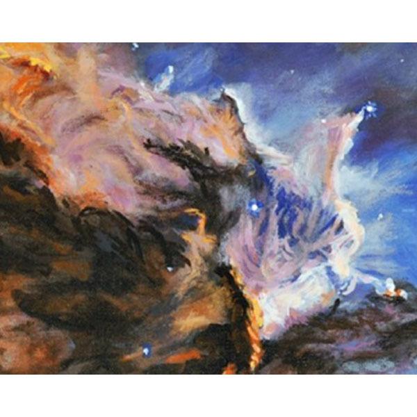 The Eagel Nebula  (An Original Space Landscape)