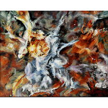 The Carina Nebula (An Original Space Landscape) - $1,000.00
