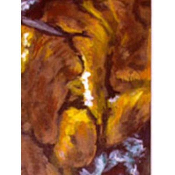 In The Deep II  (Original Painting set in an Aquarium)