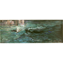 In The Deep III (An original Painting Set in an... - $1,300.00