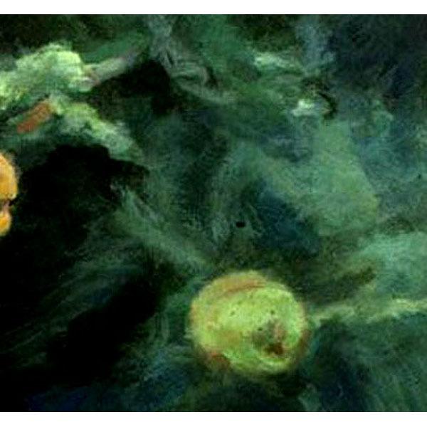 In The Deep I V  (An Ooriginal Painting Set in an Aquarium)