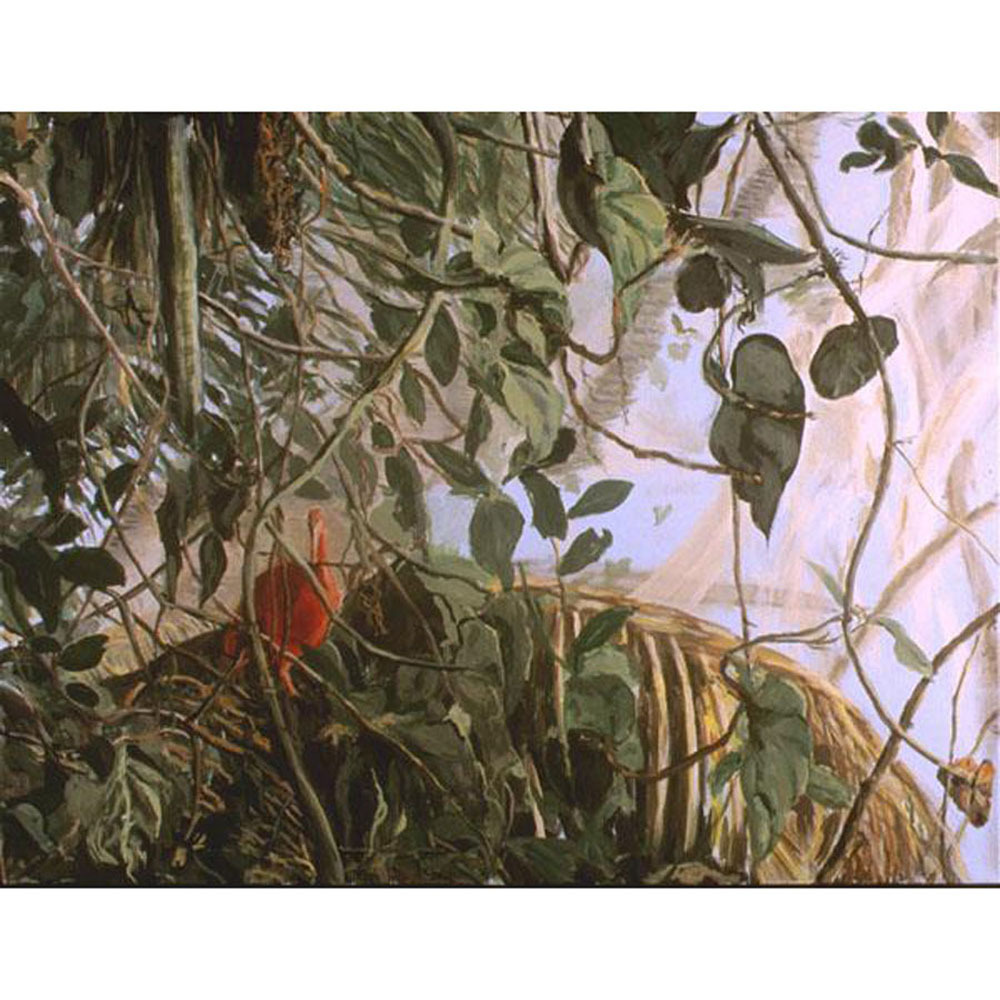 Red (An Original Painting of The Scarlet Ibis)