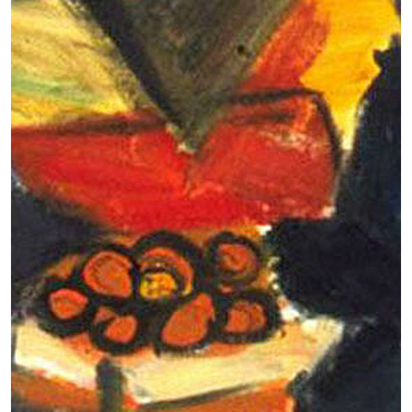 The Fruitman On The Canal ( Fauvist Oil Painting)