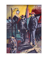 The  Gondoliers ( Fauvist  Oil Portrait) - $1,900.00