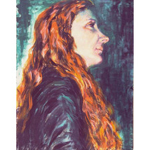 Tiziana 2001 (An Original Portrait Painting) - $1,000.00