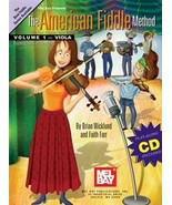 American Fiddle Method Vol 1/Book w/CD Set/ For Viola - $22.99