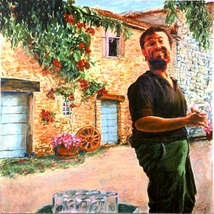 Umberto (An Original Portrait Painting) - $900.00