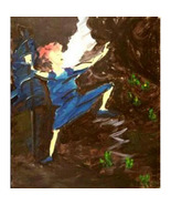 Heroine IV (An Original Abstrct Figural Painting) - $300.00