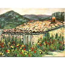In Catalunya (An Original Landscape Set In Spain) - $1,000.00