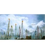 Port Vell Masts ( Original Landscape of Barcelona) - $1,500.00