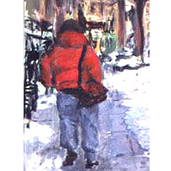 January Jog: West 12th Street (Original NYC Cityscape)