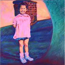 Baby Me ( Original Portrait of a New York Child,  Long Ag) - $1,200.00