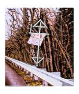 Turnpike Totem (Original Whimsical  Landscape ) - $300.00