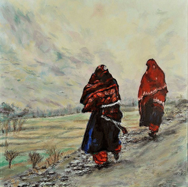 In Afghanistan (An Original Painting for Peace)