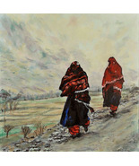 In Afghanistan (An Original Painting for Peace) - $1,300.00