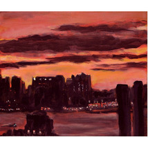 New Light (An Original New York City Landscape Painting)    - $400.00