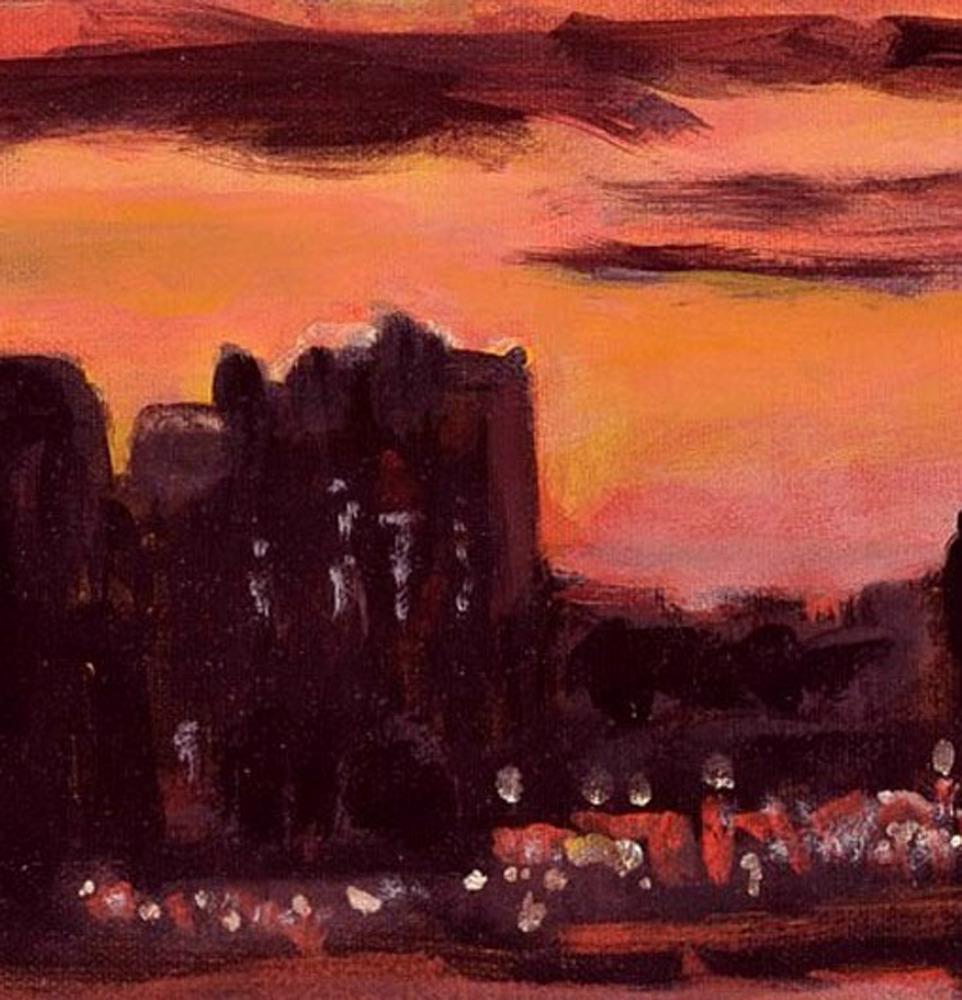 New Light (An Original New York City Landscape Painting)