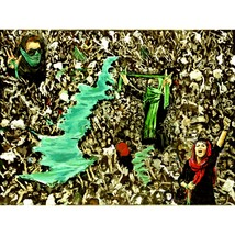 Green Tehran (A Montage  About The Tehran 2009 Protests) - $1,300.00
